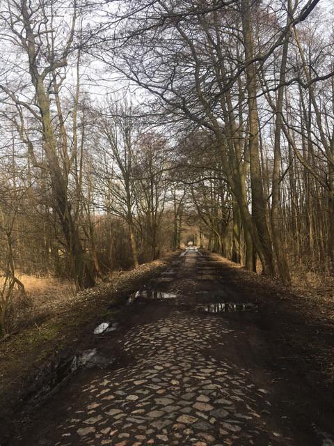 Wanderweg: Feldsteinweg zur Pyramide