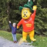 Wanderweg für Kinder in den Alpen - Murmlitrail Serfaus