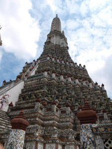 Wat Arun - der Tempel der Morgenröte in Bangkok