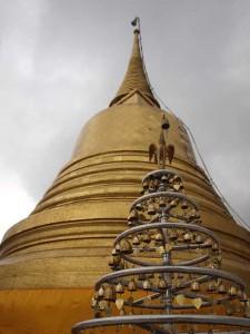 Wat Saket - der goldene Berg