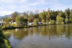 Wohnmobil Campingplatz am See - Alpen, Österreich, Tirol