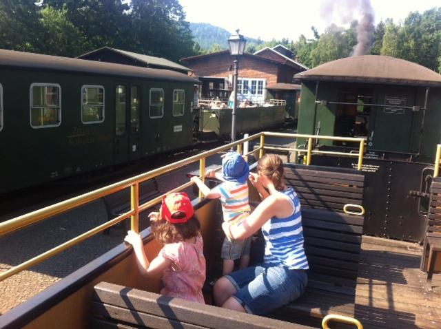 Schmalspurbahn von Oybin / Jonsdorf im Zittauer Gebirge