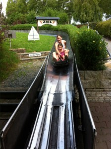 Sommerrodelbahn und Rodelpark in Oberoderwitz im Zittauer Gebirge-